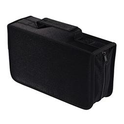 128 Capacity CD/DVD case Wallet, Storage,Holder,Booklet by R