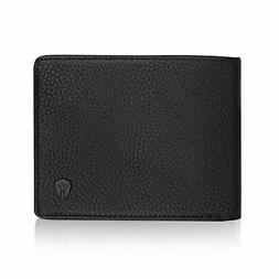 2 ID Window RFID Wallet for Men, Bifold Side Flip,