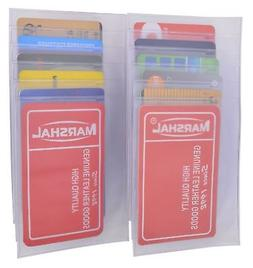 2 Plastic Insert Replacement Card Picture Holder For Checkbo