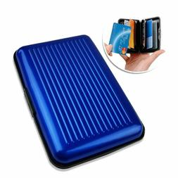 Plastic Credit Card Wallet RFID Blocking Case Credit Card Ho