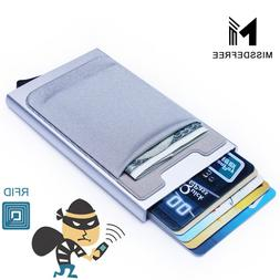 Aluminum <font><b>Wallet</b></font> With Elasticity Back Poc