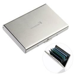 Aluminum Metal Wallet Thinly Credit Card Holder Protection C
