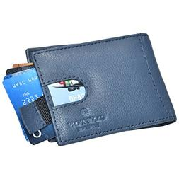 Bifold Leather Wallets for Men with Money Clip - RFID Blocki
