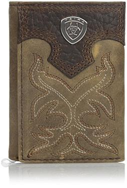 Ariat Boot Embroidery Tri-Fold Brown, Medium