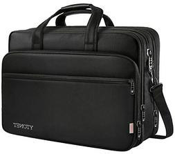 17 inch Laptop Bag, Travel Briefcase with Organizer, Expanda