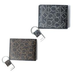 Calvin Klein Men's 79544 RFID Leather Signature Wallet and K
