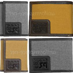 Timberland Pro Canvas / Leather Wallet Men WHITNEY Bifold, T