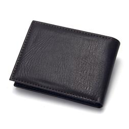 Casual Men's <font><b>Wallets</b></font> Leather Solid Luxur