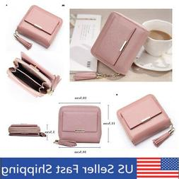 CLEARANCE Leather Coin Purse Wallet with Card Insert ID Wind