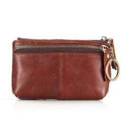 Fmeida Coin Purse Pouch with Keychain Zipper Credit Card Cha