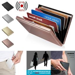 Credit Card ID Holder Slim Money Travel Wallet Box Case for