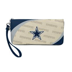 Dallas Cowboys Ladies Women's Curved Zipped Wallet Organizer