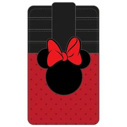 disney minnie mouse ears card holder wallet