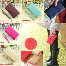 Fad Women's Wallet Leather Purse Case Cover For Samsung I910