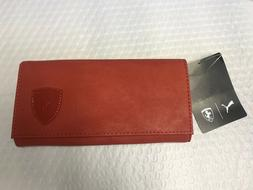 Puma Ferrari Red Ladies Wallet $24.99 On Sale For Limited Ti