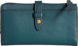 Fossil Fiona Tab Clutch Indian Teal