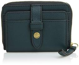 Fossil Fiona Zip Coin Indian Teal