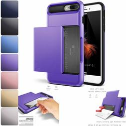 Credit ID Card Holder Hybrid Hard Protective Case Cover For