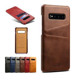 For Samsung Galaxy S10 / S10 Plus / S10e Leather Wallet Card