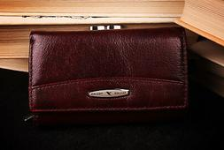 Genuine Leather big Wallet for women