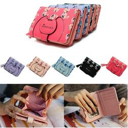 Girls Cute Happy for You Short Wallet Purse Tassel Coin Bag