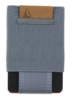 NOMATIC Gray Slim Minimalist Wallet- Everyday Carry Card Hol