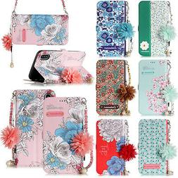 Handbag Chain Women Wallet Folio Leather Stand Case Cover Fo