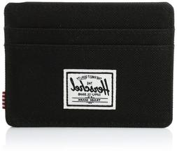 Herschel Supply Co. Charlie Card Holder Wallet - Black