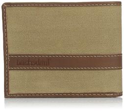 Timberland Hunter Passcase Wallet - Waxed Canvas Leather