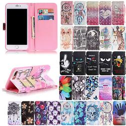 For iPhone 8 Plus / 8 Protective Cover Magnetic Leather Wall