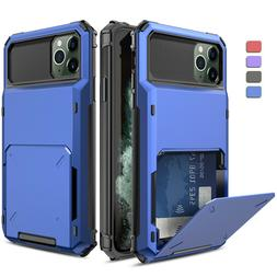 For iPhone 11 Pro Max X XR XS Max Rugged Case Cover With Car