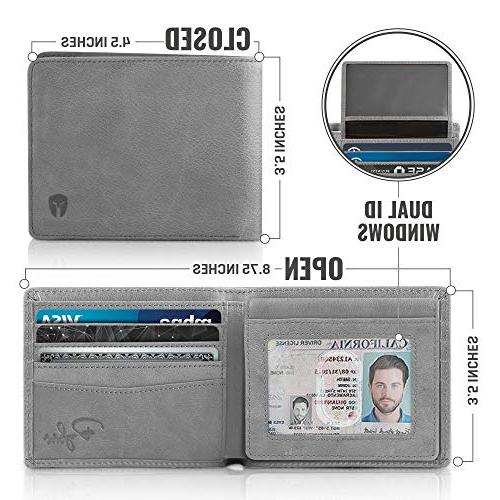 2 ID Window Wallet for Top Capacity Travel