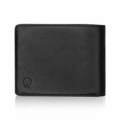 2 id window rfid wallet for men