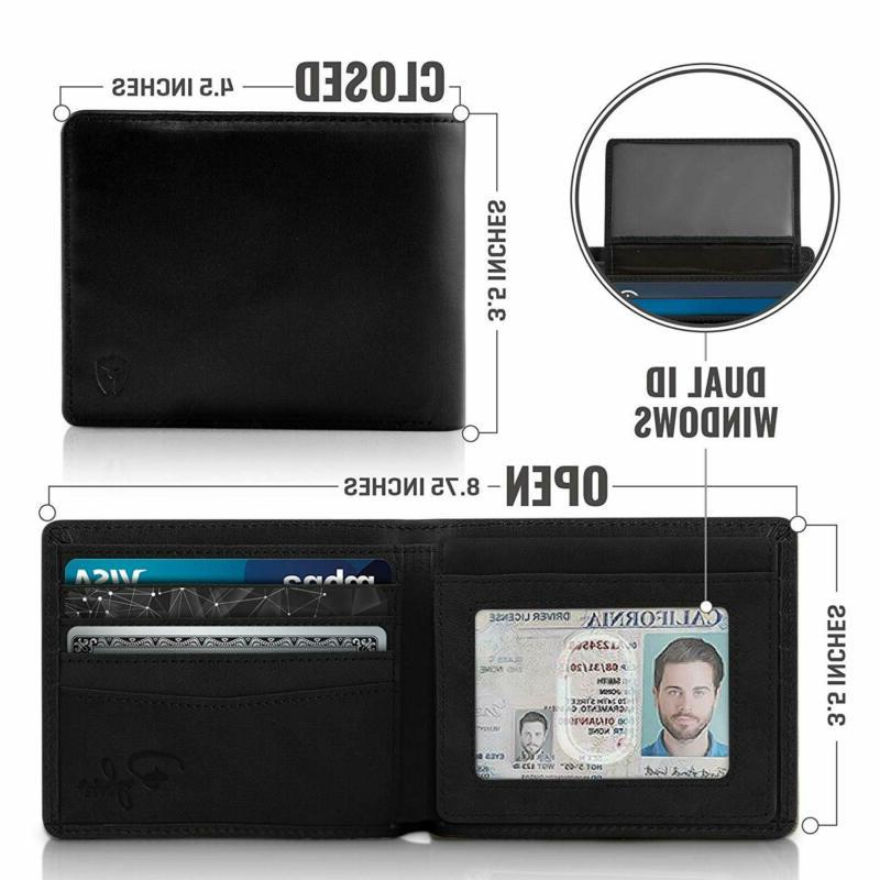 2 ID Window Wallet for Top Extra Travel Wallet