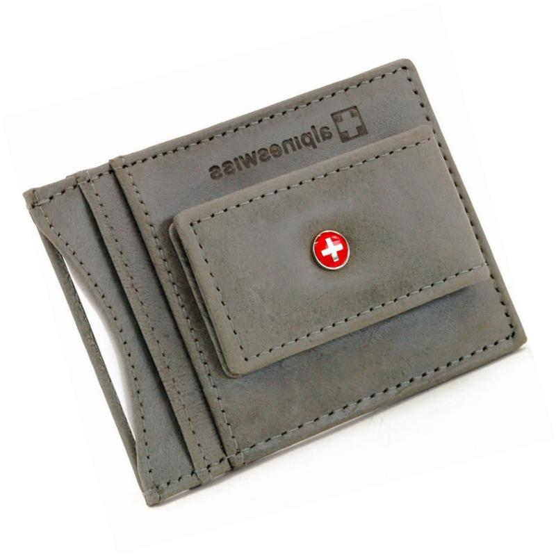 Clip Magnet Pocket Wallet ID Case