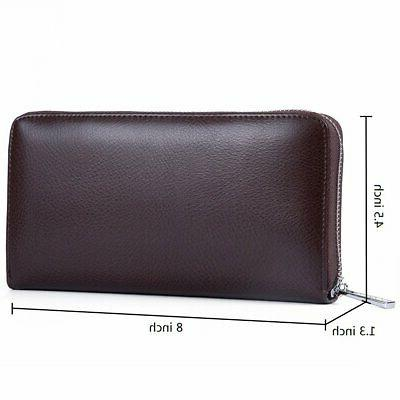 Credit Card Leather RFID or Men Buvelife
