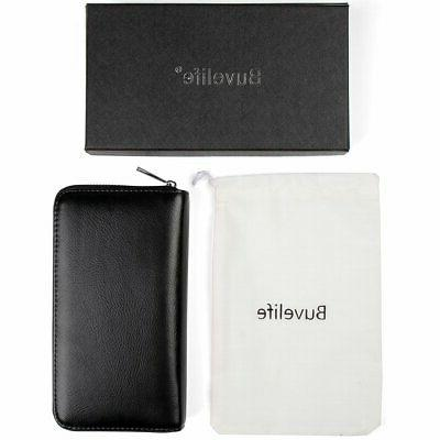 Buvelife Card Wallet Premium Leather for Man and