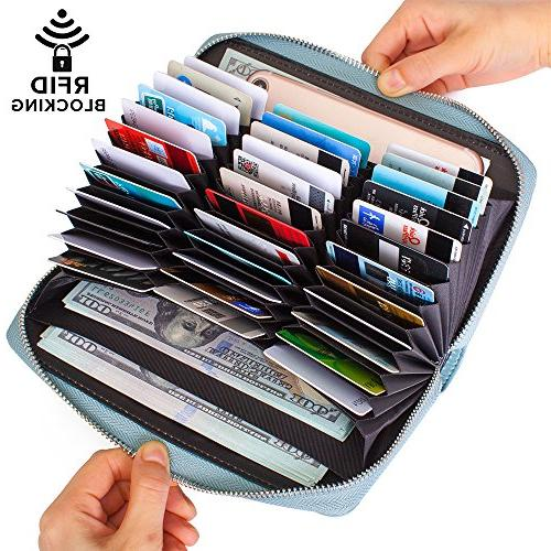 credit card wallet leather rfid wallet