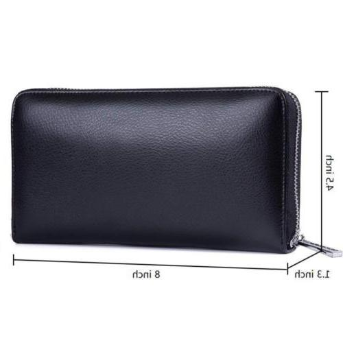 Buvelife Credit Card Leather RFID Storage Capacity