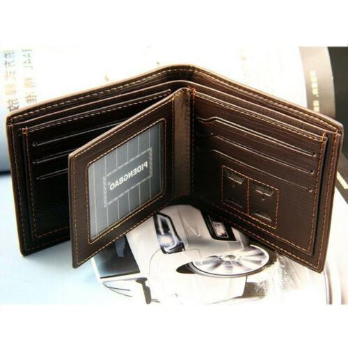 Fashion Bifold Wallet ID Holder Billfold Purse