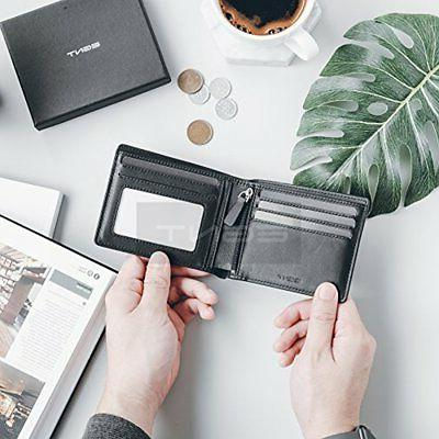 EGNT Genuine RFID Credit Card Holder Minimalist