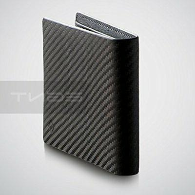 EGNT Mens RFID Carbon Slim Credit Card Holder Minimalist