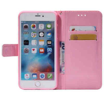 For XS XR Plus Wallet Leather Case Flip Stand Case Cover