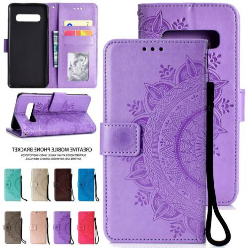 leather wallet case for samsung s10e s10