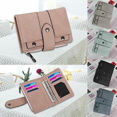 leather wallet for women ladies credit card