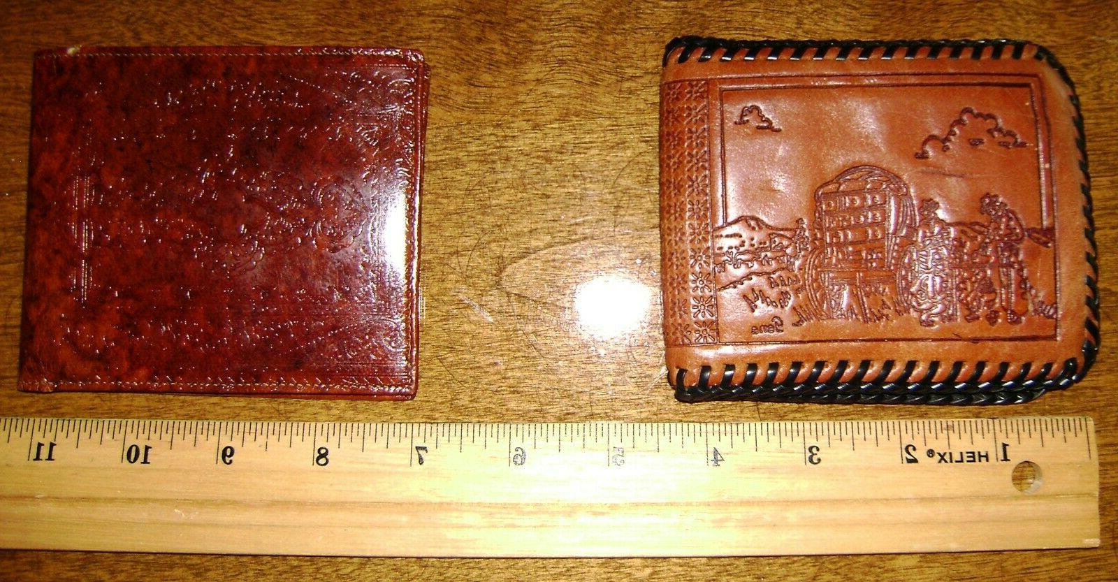 Lot of Vintage Leather