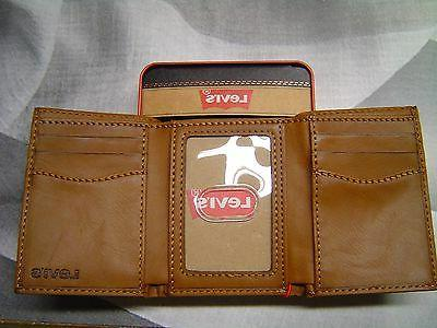 LEVI'S HORSE TRIFOLD WALLET