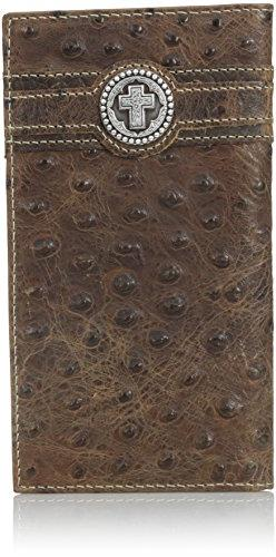 Ariat Men's Circle Cross Overlay Rodeo, Brown, One Size