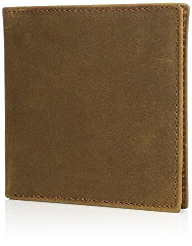 Ariat Men's Distressed Oversized Bifold Tan, One Size