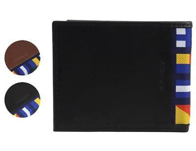 men s genuine leather credit card id